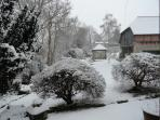 Winter at the Coach House
