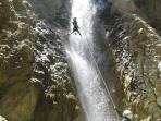 Canyoning, zip line, caving just 3 km from the house