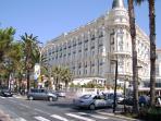 The Elegant Carlton Hotel, la Croissette
