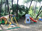 playground for children and garden perfect for yours pet dogs