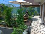 part of our lovely gardens. We have a hedge of lime trees for gin and tonics