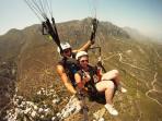 Paragliding above Karmi