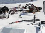 Champs open snowboar and ski contest in march