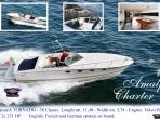 ' Tornado 38 classic' our speed craft for excursions