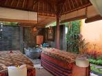 You also have access to the Kama Sutra spa which is a one-minute walk from the suite