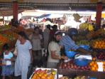 Mahebourg market