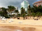 Condado Beach, four minutes walking distance