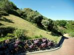 Colourful gardens commanding spectacular views
