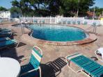 Second Pool With Jakuzzi
