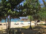 Naithon Beach, the side right in front of the resort