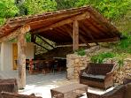 Summerkitchen and lounge set