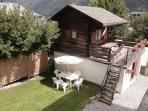 Mazot roof Terrace - ideal for sunny barbeques! (equipment provided)