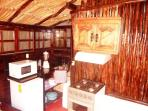 Kitchenette with table for 2 Guests