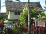 Front of Kapaa Sands. Unit #24 is in backround