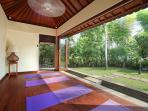The estate has its own yoga studio, which you are free to use. We can arrange for an instructor too