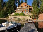 "Priest Lake Idaho ""Ravenwood"" Lux Lakefront Home"
