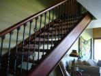 Brazilian Hardwood Stairway and floor