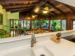 Kitchen & Dining With Waterfall