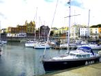 Ramsgate Royal Harbour, with many bistros, wine bars, restaurants and much much more. Great to visit