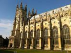 Canterbury Cathedral a must see attraction.(free entry during services)