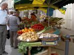 Piegut Market every Wednesday