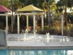 Pool - children's play area