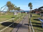 Garden Walkway to Beach