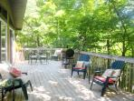Deck seating and grilling