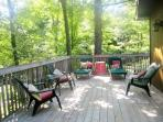 Deck seating and sunning