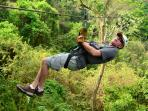 Free Zip-line Tour or Massage with Week Long rentals