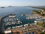 Santa Maria Navarrese's touristic marina