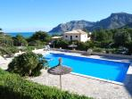 Fantastic Views of The Pool, Mountains & Sea From The House
