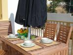 Enjoy the open air for breakfast, lunch or dinner!