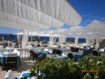 Casablanca restaurant - 5 minutes walk from the villa