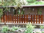Whinfell Tarns 2nd Decking Area also has outdoor furniture