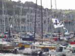 Dartmouth Royal Regatta is one of many local events throughout the year