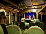 14 seat cinema with Sky channels, dvd, apple TV