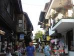 Busy Nessebar Street