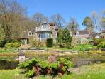 oak framed house with fabulous gardens to enjoy throughout the year. Ask about our wedding licence.