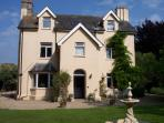 The main house at Ilsington Lawn