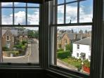 the bay window looks out over Westgate