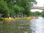 Découvrez les activités aux alentours comme le canoe a 2kilomètres du logement