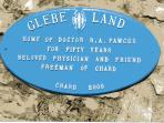 Glebelands was built 'for the beloved physician of Chard' Dr Robert Fawcus