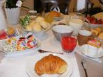 breakfast with a wide selection