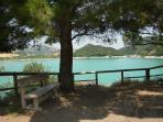 Casoli Lake is known locally as Lago di Sant Angelo and is ideal for a picnic.
