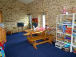 The Games Room - stocked with toys, DVDs, books and games