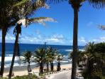 View from the lovely Roundhouse restaurant in Bathsheba