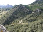 Location of the house, in the heart of the natural park Sierra de Grazalema.