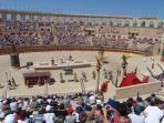 The Roman Procession at the Puy du Fou Theme Park