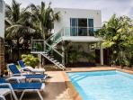 Poolside apartment (4th Bedroom) - Double room making very flexible accommadation